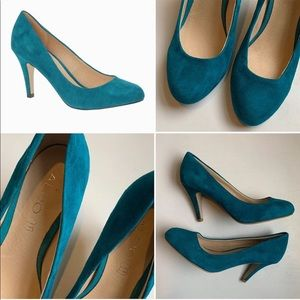 Aldo Genuine Suede Pumps